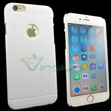 Custodia Nillkin Frosted Shield bianco p iPhone 6 4.7 6S cover rigida nuova case