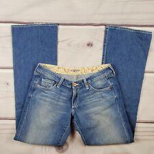 Big Star Sweet Jeans Womens Size 30R Medium Wash Flare Leg Low Rise Stretch