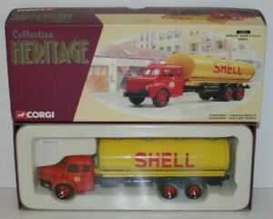 CORGI 1/50 SCALE COLLECTION HERITAGE 73201 BERLIET GLR8 CITERNE - SHELL