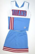 """Tn Titans Real Cheerleader Uniform Outfit Costume Child 26"""" Chest Football Fun!"""