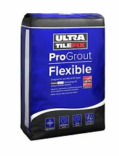 UltraTileFix ProGrout Flexible Black Wall & Floor Tile Grout - 3kg