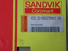 Tre TAGLI SANDVIK n331.32-080s27em*10 .25 *