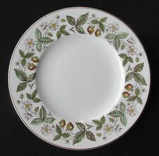 """'Strawberry Hill' by Wedgwood, 8 1/8"""" Salad Plate, Green Backstamp (Wedgewood)"""