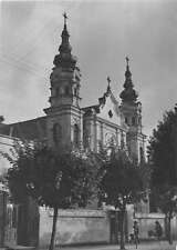 Biala Podlaska Poland Church Exterior View Vintage Postcard J51158