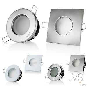 Badeinbaustrahler Deckenspots LED  IP44 GU10 Feuchtraum Außenleuchte VENEDIG 230