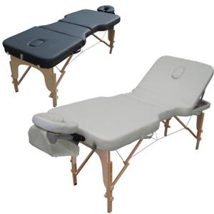 Tahiti Whitianka 3 Section Portable Massage Table