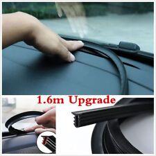 Hot 1.6M Black Soundproof Anti-dust Seal Strip Trim For Car Dashboard Windshield