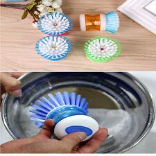 Random Color washing pot Brush kitchen gadgets Wash Tool Pan Dish Bowl   H