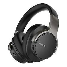 ea33416c211 AUSDOM ANC8 Active Noise Cancelling Bluetooth Wireless Over-Ear Headphones  - Black
