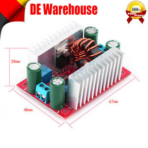1x 400W DC-DC Step Up Boost Buck Voltage Converter Power Supply Module CC-ADJ DE