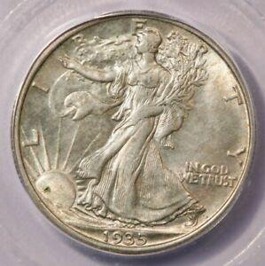 1935-P 1935 Walking Liberty Half Dollar ICG MS64