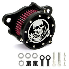 Air Cleaner Intake Filter For Harley Sportster Iron 883 1200 1988-2017 Style H
