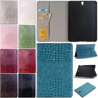 Luxury PU Leather Smart Stand Case Cover for Samsung Galaxy Tab 3 4 A S S2 S3 S4