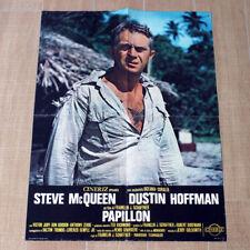 PAPILLON manifesto poster Steve McQueen Hoffman Schaffner Butterfly Farfalla