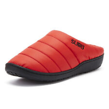 SUBU Womens Poppy Red Slippers Casual Home Indoor Shoes