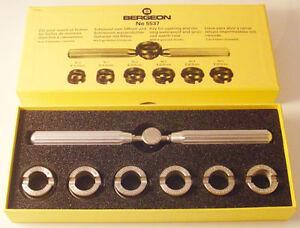Bergeon 30027 Uhr Hand Hebel Paar Entferner 2.50mm HH30027