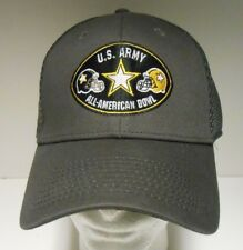 U.S. Army All American Bowl Hat Cap Gray Medium-Large New Era Mesh Back  BARGAIN abf4b4975