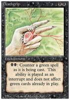 4x Deathgrip MTG 3rd Edition / Revised NM Magic Regular