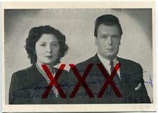 WLADIMIR KIRILLOWITSCH ROMANOW & LEONIDA G. BAGRATION - orig. Autograph, 1969