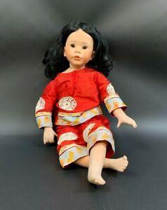 Donna Rubert The Doll Art Work 2001. Whitney 1991 Puppe Künstlerpuppe 60cm 16A1