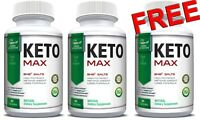 Potent Keto MAX 60 Caps for Weight Loss, Keto Diet Support, Fat Burner Ketogenic