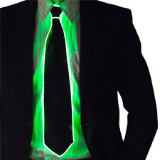 led flashing light up sequin necktie mens boys party neck tie wedding xmas gift - Light Up Christmas Tie
