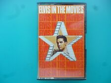 "ELVIS PRESLEY  "" ELVIS IN THE MOVIES ""  CASSETTE"