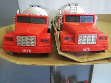 TEXACO 1995 TANKERS-SMALL and LARGE TAG DATES-NIB-SET OF TWO