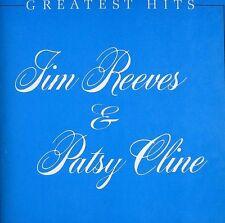 Greatest Hits by Jim Reeves/Patsy Cline (CD, Nov-1988, BMG (distributor))