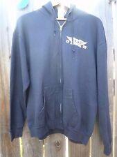 Vintage Style 1970 AEROSMITH Boston Large Hoodie Full Zip Sweatshirt