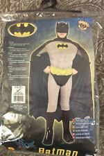 DC Comics Deluxe Batman Muscle Chest Costume Rubies Child Small 4-6