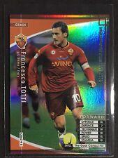 2007-08 Panini WCCF Crack Francesco Totti rare refractor card Roma