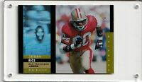 Jerry Rice SF 49ers - 1995 Upper Deck Holoview Insert #26 + 2 more cards