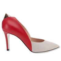 Scarpe Donna Tacco decolte POLLINI Shoes Decollete Pelle Tacchi