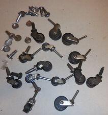 Vintage Lot Of Daisy Furniturecart Wheels Castors Wheel Parts And Repair