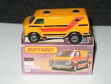 MATCHBOX LESNEY CHEVROLET VAN MB 68C-04 (MIB)