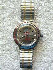 Vostok Amphibian Automatic Self Winding Russian Wrist Watch, Kgb dial