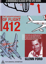 THE DISAPEARANCE OF FLIGHT 412 Glenn Ford DVD - All Zone - New - PAL