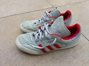 Mens size 11 adidas super samba trainers