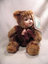 Ashley Belle Collection  porcelain faced Bear with original Certificate