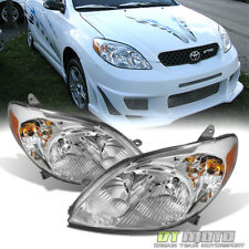 For 2003-2008 Toyota Matrix Headlights Headlamps Replacement 03-08 Left+Rght Set (Fits: Toyota Matrix)