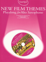 FILM THEMES Alto Sax Saxophone Sheet Music Book & Playalong CD Shop Soiled Cover