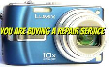 PANASONIC TZ1 or TZ3 REPAIR SERVICE for your Digital Camera with 60 Day Warranty