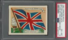 PSA 6 - 1961 Fleer Pirates Bold - Flags of the Spanish Main - British Union Jack