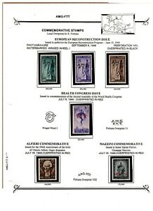 Trieste AMG-FTT Allied Military Government Mint Stamp Collection - Special Pages
