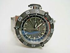 Invicta Men's Subaqua Noma III 21726 Watch GMT Wristwatch Swiss Made Black