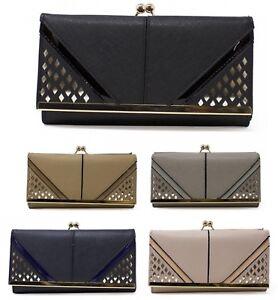 Ladies Boxed Fashion Long Wallet Purse Card Phone Holder Clutch Handbag Case 98