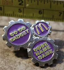 McDonalds Disney Go Go Gadget Inspector 1998 Collectible Pinback Pin Button