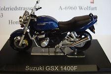 Suzuki GSX 1400 F blau 2001  Topmodell  1:24