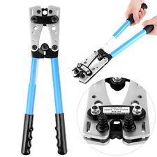 Pince à sertir 6-50 mm² outil de sertissage réglable sertisseuse câble bricolage